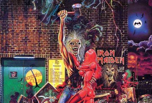 Iron Maiden Eddie's 1989 Music Poster J-4539