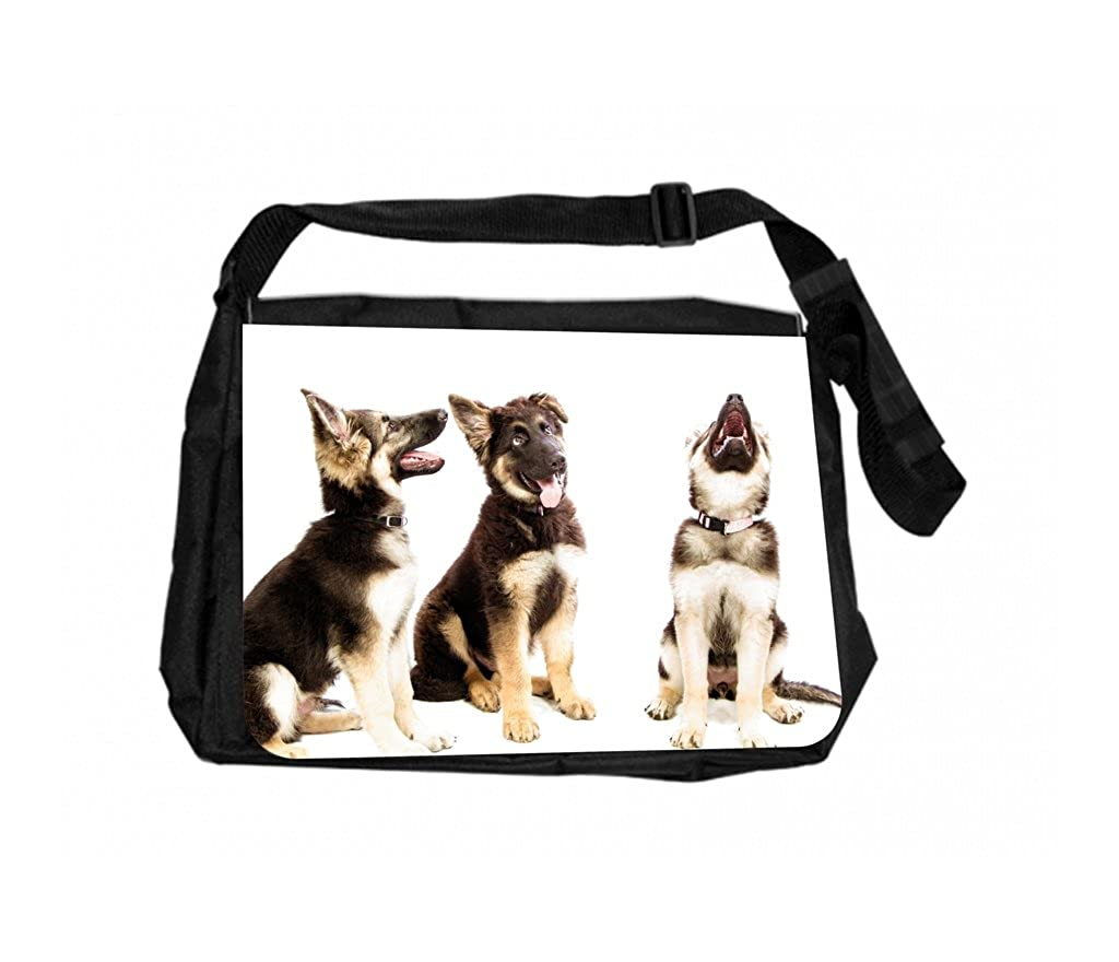 Crazy Dogs Rosie Parker Inc。TMノートパソコンメッセンジャーバッグand Small Case forワイヤアクセサリーセット   B072KHBS9R