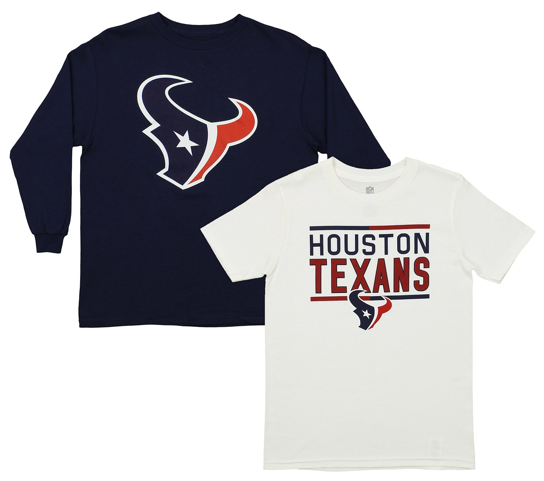 e238f7f45 Amazon.com   Outerstuff NFL Youth Boys (8-20) Team Flag Runner Short Sleeve    Long Sleeve Tee Combo Set