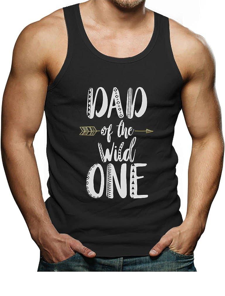 Dad of The Wild One Funny 1st Birthday Singlet Tstars