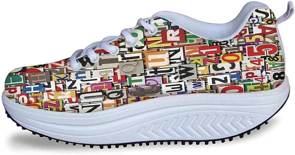 YOLIYANA Juego de Mesa Cool Shake Zapatos, Barco Fantasma con Faro Pirata Aguas Tropicales de Isla Buccaneer Ocean Palms para Mujer, Talla 5 (EE. UU.), (Multi 07), 36 EU: Amazon.es: Zapatos y complementos