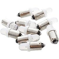 ampoule de Xenon - SODIAL(R)10x BA9S T4W 1895 53 LED Xenon blanc pour BATEAU DoME lumiere Lampe ampoule interieure