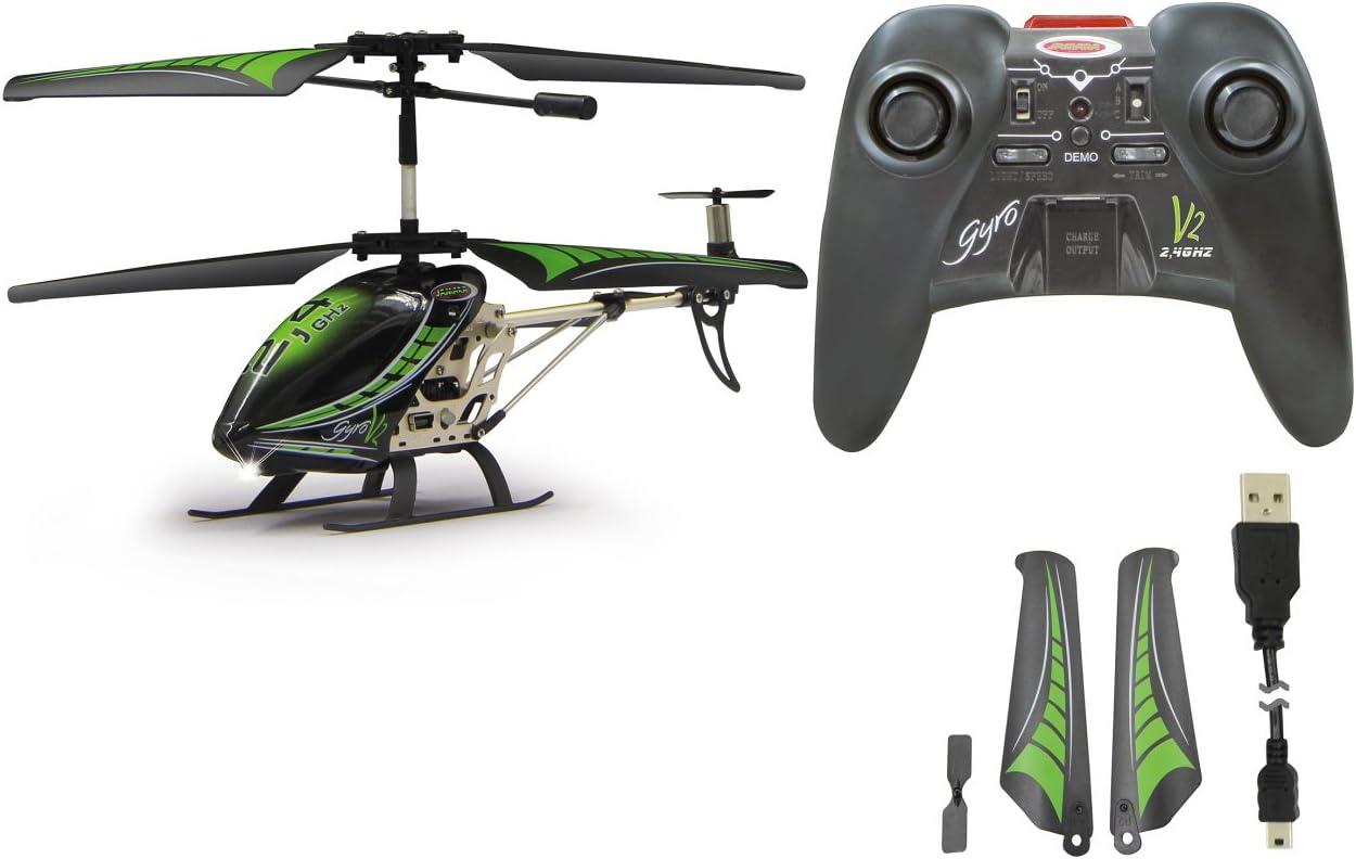 Jamara Gyro V2 - Helicóptero de control remoto, Multicolor