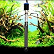 Bestgoo 300W Adjustable Quart Glass Submersible Aquarium Heater for Fish Tank with Smart Auto Constant Temperature System Thermostat