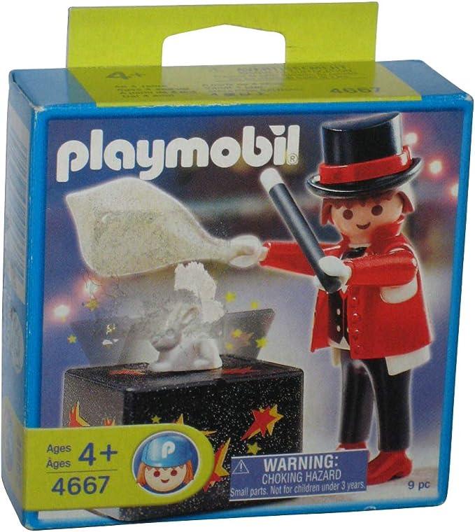 PLAYMOBIL 4667 Mago Especial con Trucos: Amazon.es: Juguetes y juegos