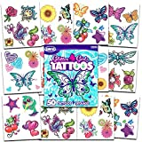 Add a touch of sparkle with Savvi Glitter Temporary Tattoos! Apply glitter tattoo designs to arms, faces , hands; anywhere you want a touch of glamour! Bag of 36 assorted glitter tattoo designs. These temporary tattoos are fun, fast to apply, easy to...