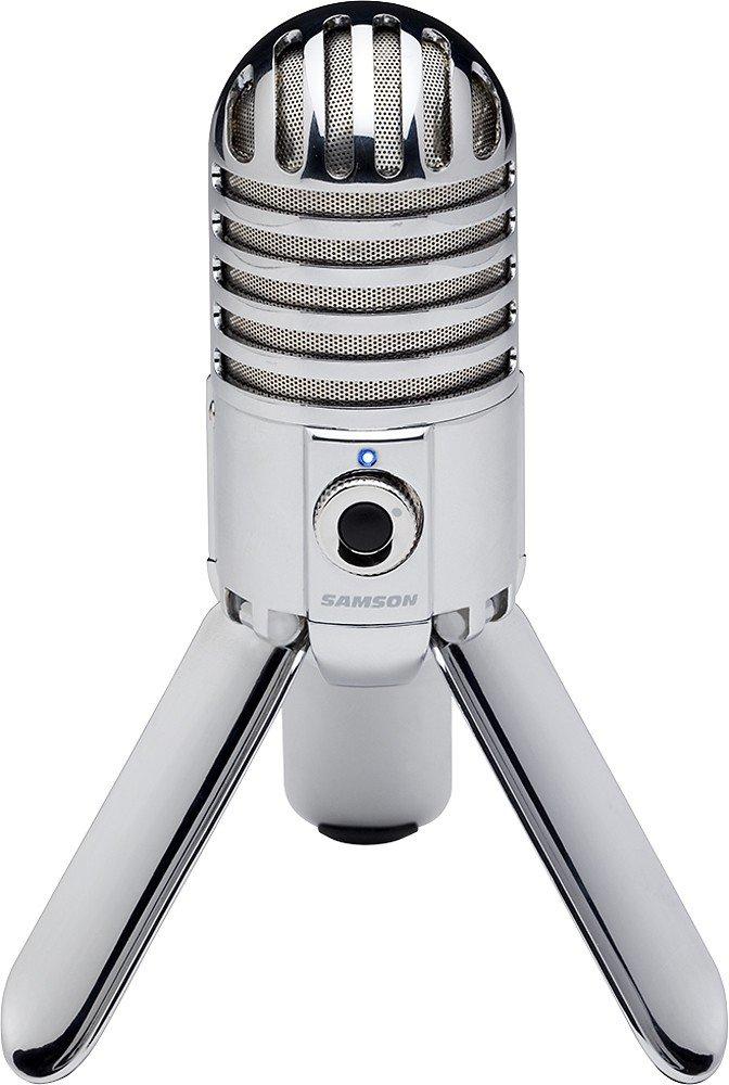 Samson - Micrófono USB Meteor con software de cancelación de ruido - Nuevo, caja abierta