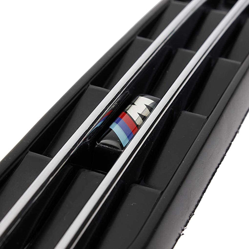 Yangge Yujum Black Side Fender Mesh-Air Flow Vents Grill Grill Ersatz f/ür BMW E60 M5 E61 E39 E90 M3 E46