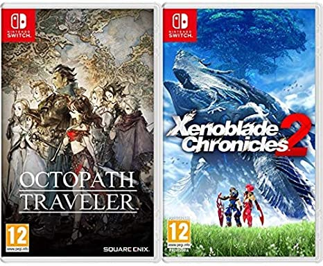 Octopath Traveler - Edición Estándar & Xenoblade Chronicles 2: Amazon.es: Videojuegos