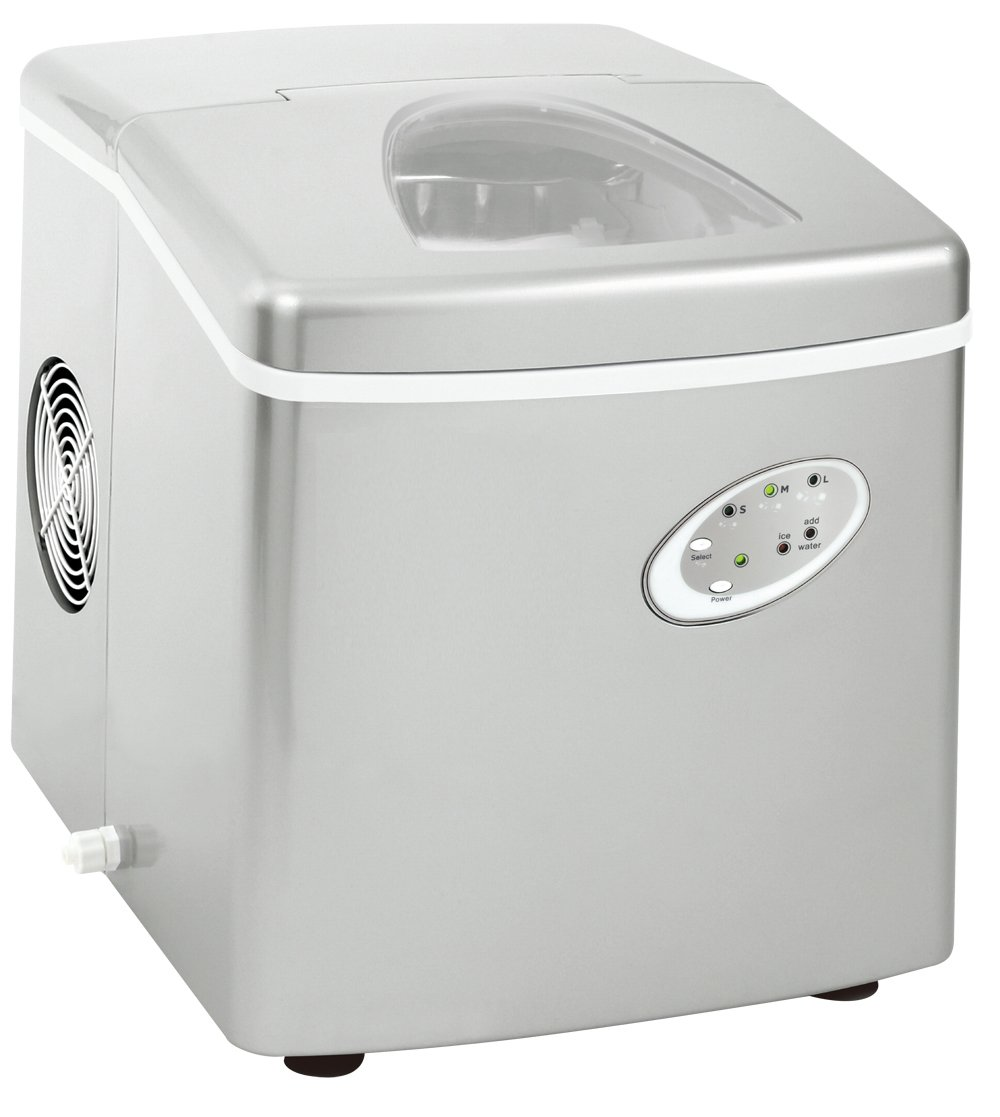 Curtis Extra Large Ice Maker, Silver Curtis International LTD ICM301