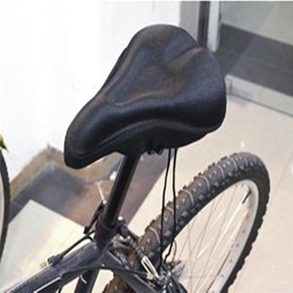 CGBOOM Gel Bike Sattel Sattelbezug Gelsattelbezug Weicher Gelsattel /Überzug Bequem Sitzkissen Pad f/ür Mountainbike Rennrad E-Bike Sattel/überzug Herren und Frauen