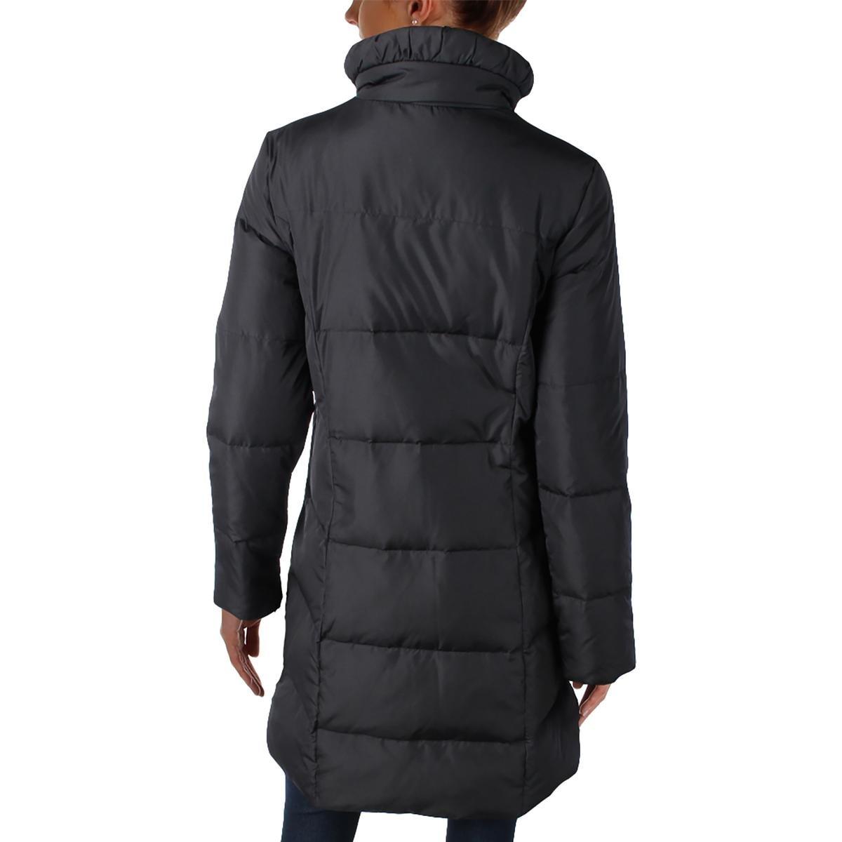 Ellen Tracy Womens Down Long Sleeves Coat Black S by Ellen Tracy (Image #2)