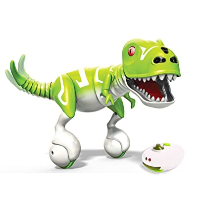 Zoomer Interactive Dino, Boomer, Green (Certified Refurbished): Toys & Games