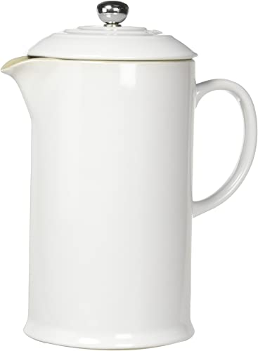 Le Creuset PG8200-1016 Stoneware French Press Coffee Maker