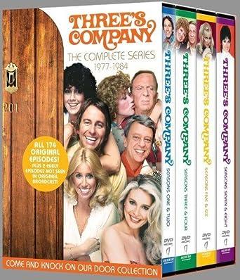 Verzamelkaarten, ruilkaarten Niet-sportkaarten THREE'S COMPANY TV Series  Complete Trading Card Set  John Ritter