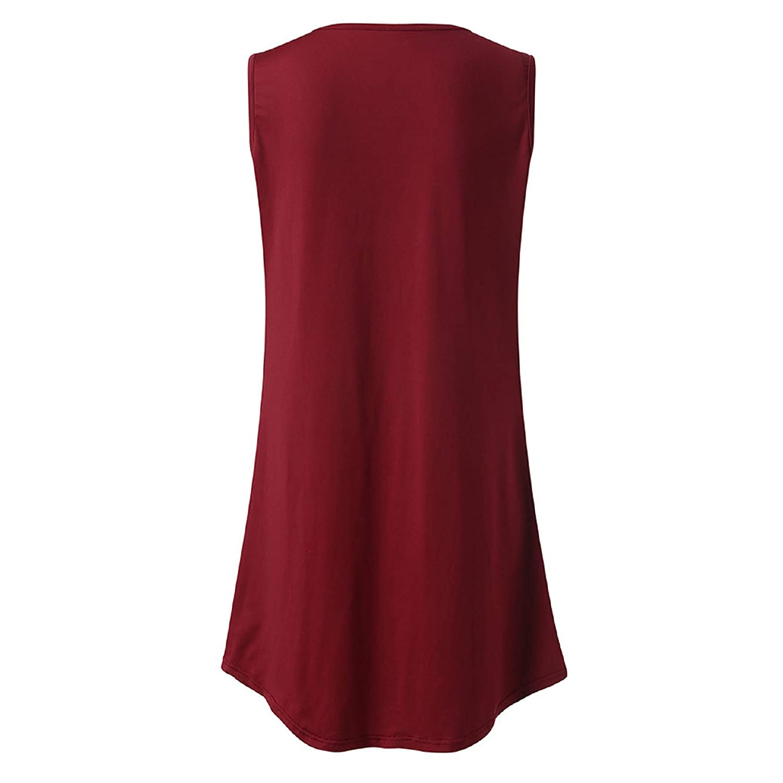 BingYELH Maternity Clothes Womens Pleated Nursing Tank Tops Summer Comfy Sleeveless Breastfeeding Shirts Postpartum Blouse