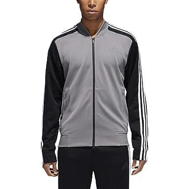 4d5b13866 adidas Mens Sport ID Track Mixed Bomber Jacket at Amazon Men's Clothing  store: