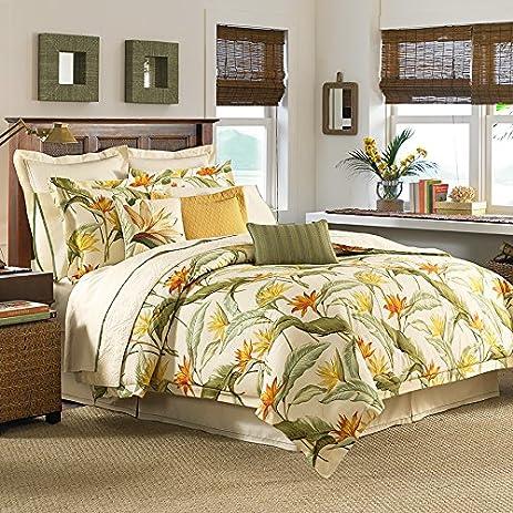 Amazon.com: Tommy Bahama 205545 Birds of Paradise Comforter Set ...