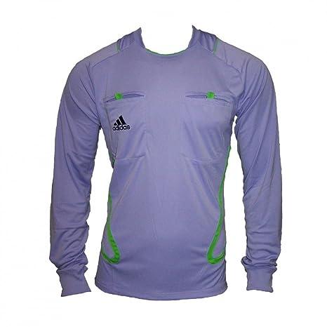 Adidas UEFA Champions League de árbitro/Referee Camiseta 2011/2012 O56411, Hombre,