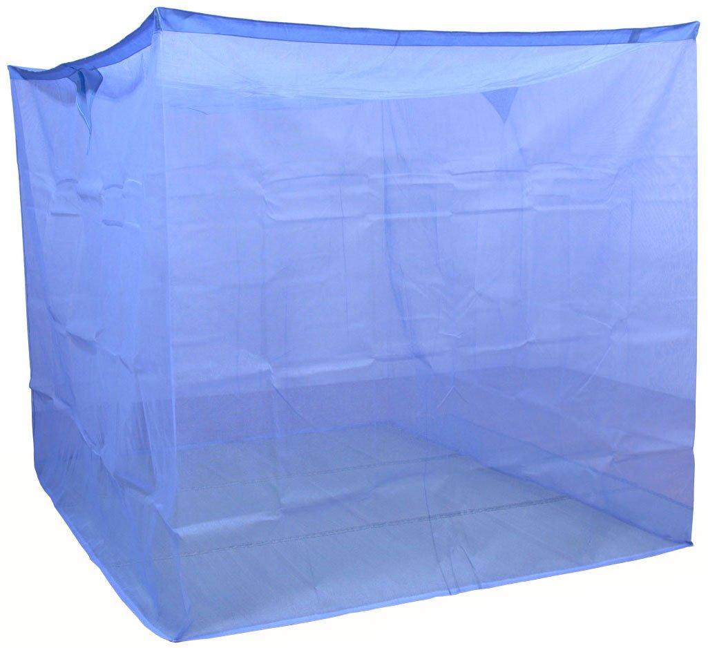 蚊帳 片麻 アサギ 190cm 10畳 ブルー 国産 12602 B0079S6RYE