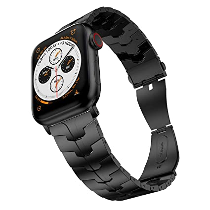 Amazon.com: LDFAS - Correa de reloj compatible con Apple ...