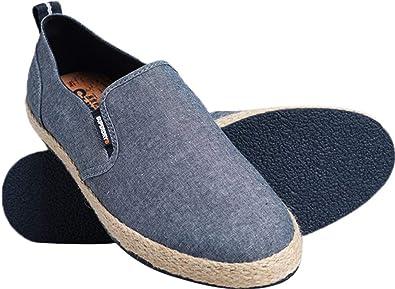 Superdry Hybrid Slip On Mens Shoes Blue