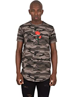 314dfc31b Project X Paris Tee Shirt Brodé Rose Homme: Amazon.fr: Vêtements et ...