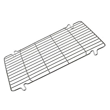 Bandeja de rejilla de alambre para horno de cocina, soporte de ...