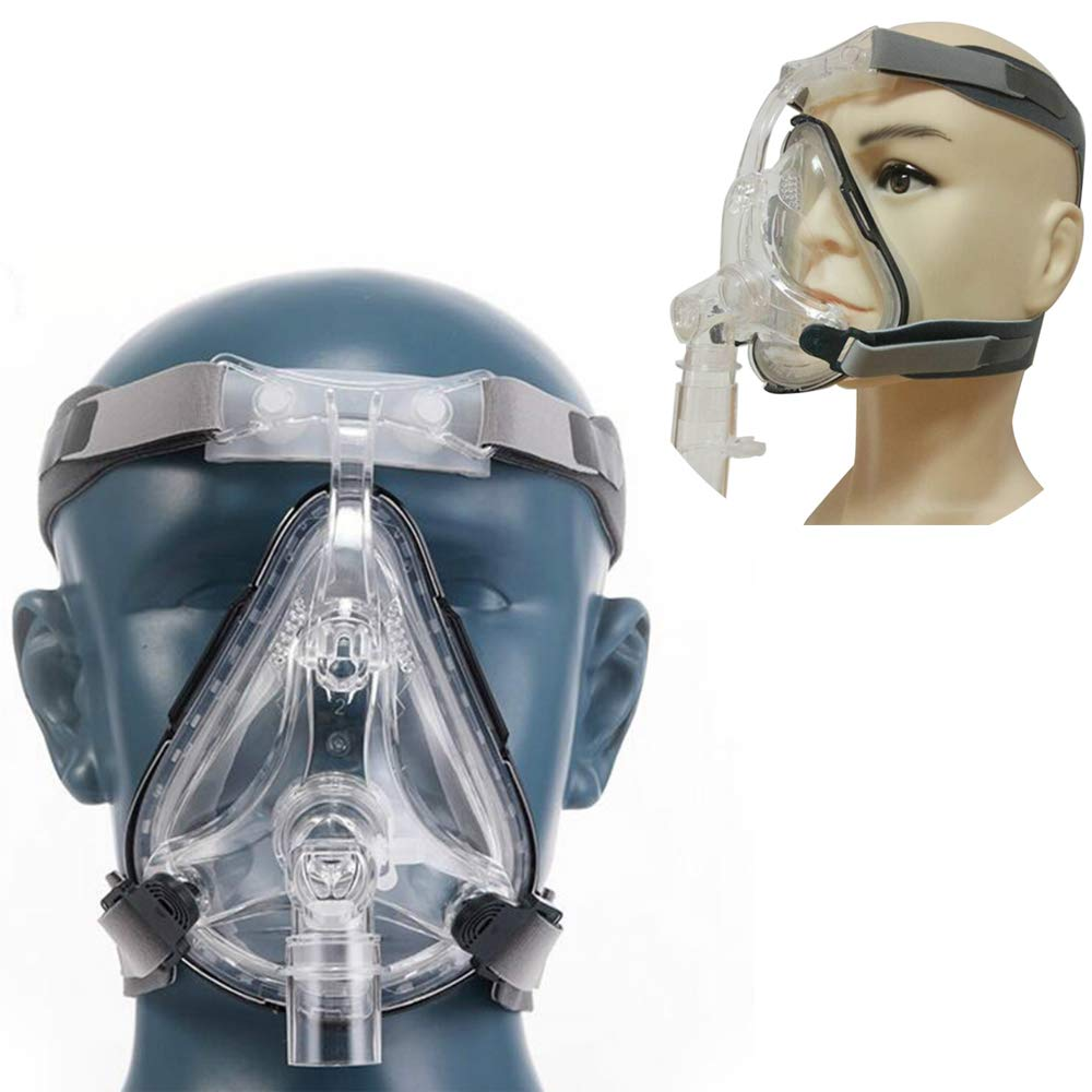 vinmax Adjustable Headgear Mask (Full Face)- Large Size by vinmax