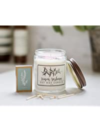 Lemon Verbena Essential Oil Candle - 8oz Soy wax aromatherapy candle