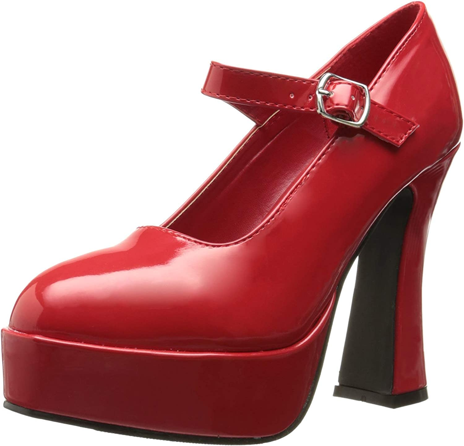 Red Patent Mary Jane Shoes Adult 8M