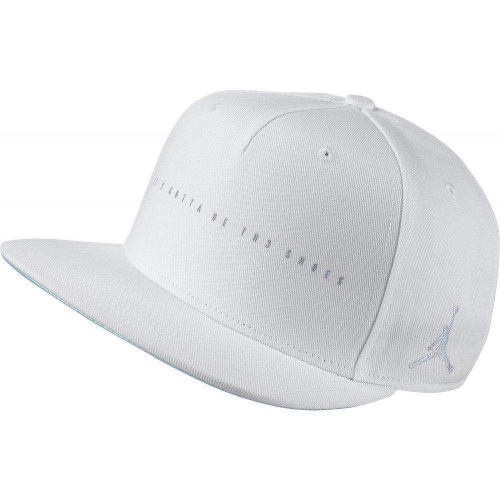 Nike 4 Snapback Gorra Línea Michael Jordan de Tenis, Hombre, Blanco (White/Wolf Grey), Talla Única: Amazon.es: Deportes y aire libre