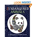Zendangered Animals: A Zendoodle Coloring Book