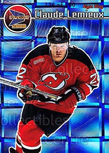 ((CI) Claude Lemieux Hockey Card 1999-00 Prism Holographic Mirror 83 Claude Lemieux )