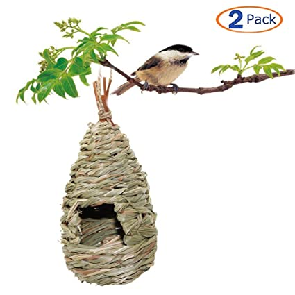 Home & Garden Analytical Natural Safe Handmade Vine Brown Bird Nest House Home Nature Craft Holiday Decoration Outdoor Birds Accessories All Season Easy To Use