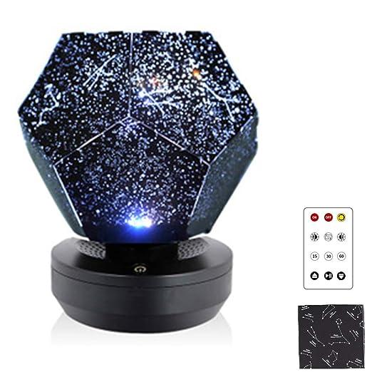 Star Lamp Projector, USB Charging Night Light Star Lamp, LED ...