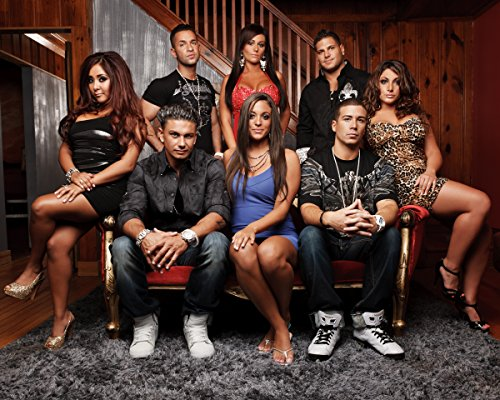 Jersey Shore CAST / Snooki & JWoww 8 x 10 GLOSSY Photo Picture IMAGE - Jersey The Shore Cast Of
