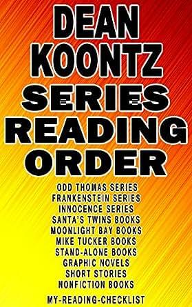 DEAN KOONTZ: SERIES READING ORDER: MY READING CHECKLIST