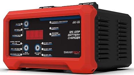 Amazon.com: Smartech SBC-125 - Cargador de batería de 6 V/12 ...