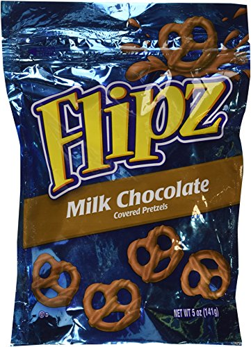 Flipz, Milk Chocolate Covered Pretzels, 5oz Bag