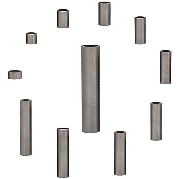 10 unidades sin rosca interior FASTON Casquillos distanciadores para M7//M8 de acero inoxidable A2 10 x 8 x 25