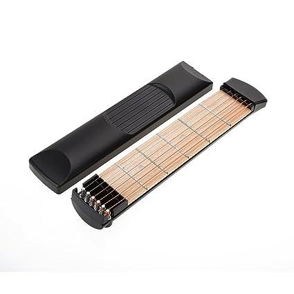 Herramienta de práctica para guitarra de 6 trastes, portátil, herramientas de entrenamiento para principiantes