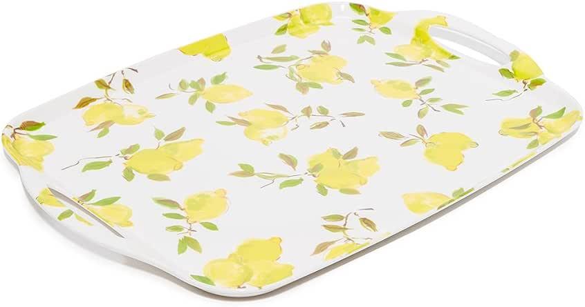 Amazon.com: Kate Spade New York 176730 Lemon Melamine