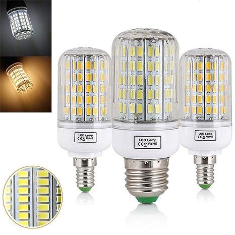 E27 E14 Bombilla LED para maíz 7W 12W 15W 20W 25W 45W Luz 5730 SMD Lámpara