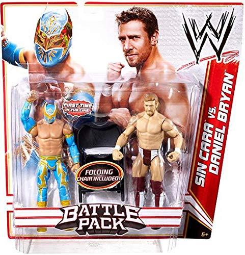 WWE Battle Pack: Sin Cara vs. Daniel Bryan Figure 2-Pack Series 15