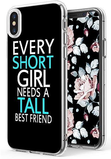 iphone xr clear friends case