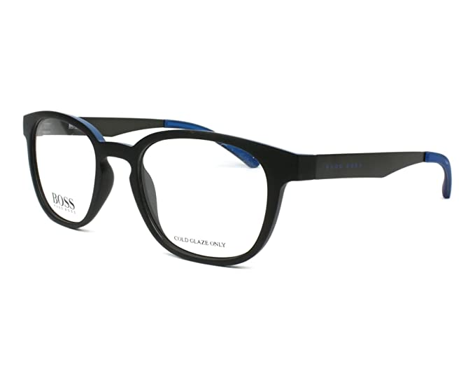 5e2148a14db Image Unavailable. Image not available for. Color  Eyeglasses Boss Black  871 00N2 Matte Blue