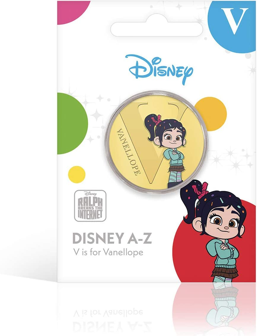 vollfarbige Gedenkpackung im Einzelhandel silberbeschichtete IMPACTO COLECCIONABLES Disney A-Z-Kollektion Q ist f/ür die b/öse K/önigin