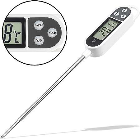 Thermometre Electronique De Cuisine Professionnel En Acier