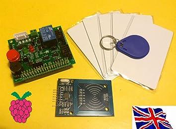 RFID HAT RFID Reader & Control Board Kit 03 for Raspberry Pi B+ / 2B / 3B